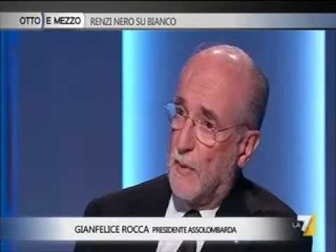 L'intervista di Lilli Gruber a Gianfelice Rocca, Presidente Assolombarda – La 7