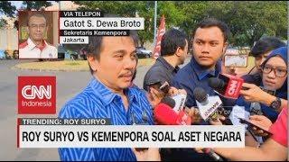 Video Roy Suryo vs Kemenpora soal Aset Negara; Pihak Roy Suryo Mengaku Tidak Terima Surat 'Tagihan' MP3, 3GP, MP4, WEBM, AVI, FLV Oktober 2018