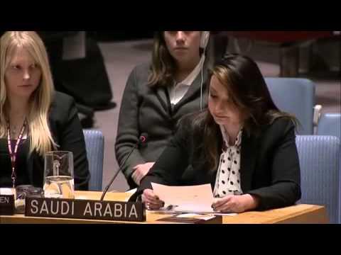 #فيديو .. الدكتور منال رضوان تمثل المملكة في مجلس الأمن
