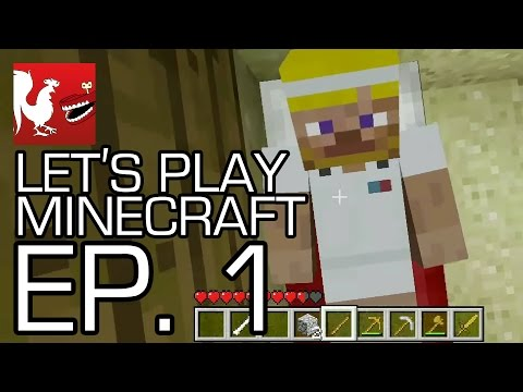 Let's Play Minecraft with Geoff, Jack, Michael, Gavin and Ray Video
