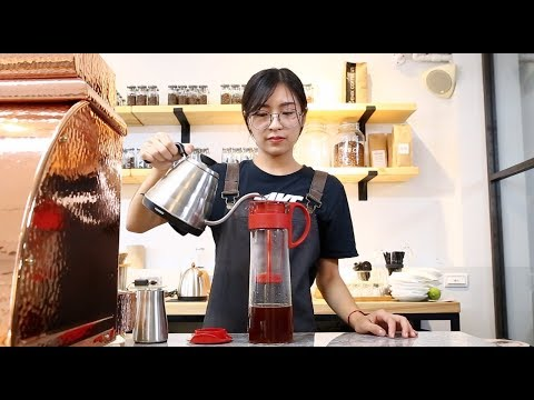 【HARIO 冷泡咖啡壺】(MCPN-14R )使用教學|操作示範:Phoenix Roasteria|錄影剪輯:咖啡大叔