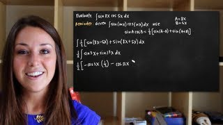 Integrals Of Trigonometric Functions, Sin(mx)cos(nx)