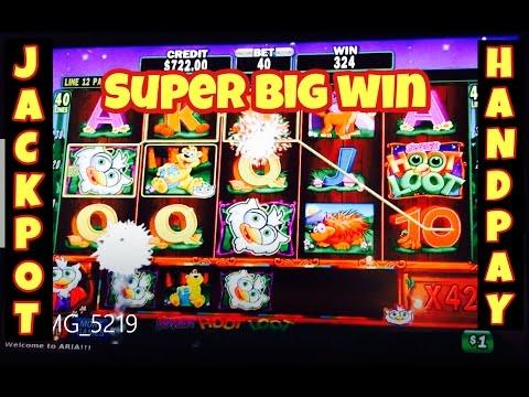 ★ SUPER BIG WIN ★ HIGH LIMIT SLOT MACHINE JACKPOT HANDPAY SUPER HOOT LOOT