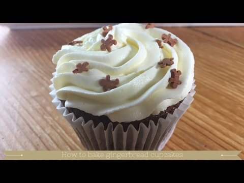 Gingerbread Cake : How to bake gingerbread cupcakes