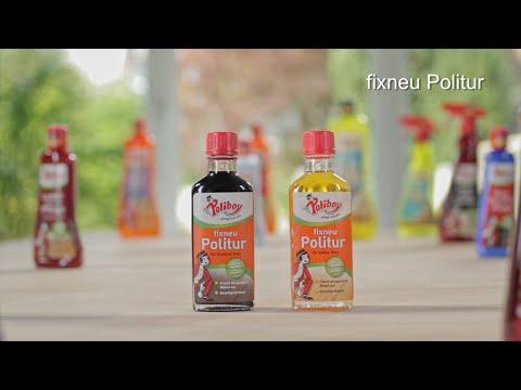 POLIBOY: Die Anwendung der fixneu Politur
