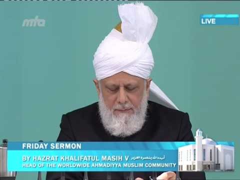 Friday Sermon: Khalifatul Masih II: Pearls of Wisdom