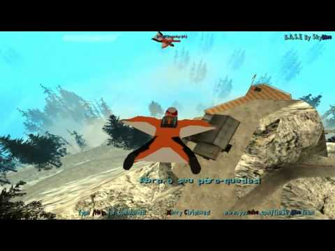 ]HixPBase[GTA San Andreas: Wingsuit Base jumping SkyBlue