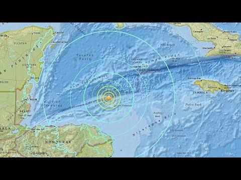 Σεισμός 7,6 Ρίχτερ στην Καραϊβική – Ήρθη η προειδοποίηση για τσουνάμι…