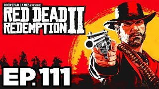 Red Dead Redemption 2 Ep.111 - BLOWING UP A BRIDGE, HUNTING WITH HAMISH!!! (Gameplay / Let's Play)