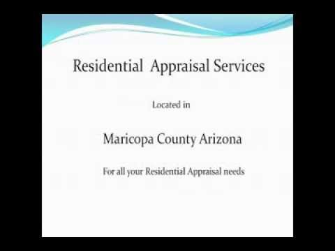 Residential Appraisal Services Mesa Arizona