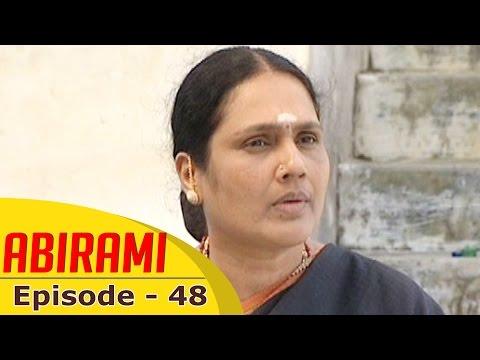 Abirami-Epi-48-Tamil-TV-Serial-09-09-2015-Gautami-01-03-2016