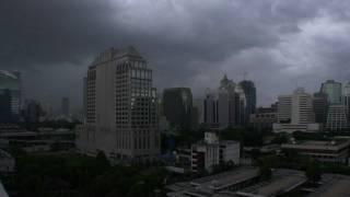 Bangkok Cloud Lapse Time Lapse