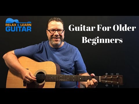 How to play guitar  for older beginners – 10 tips