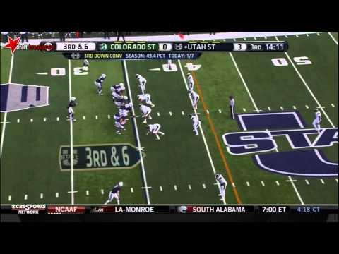Shaq Barrett vs Utah St. 2013 video.