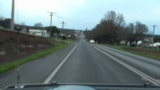 Camperdown (VIC) Australia  city images : Camperdown Driving Westbound - Victoria