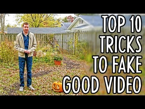 10 Tricks to Make Amateur Video Look Professional : Indy News