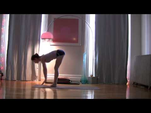 Yoga for Absolute Beginners.  Try this!
