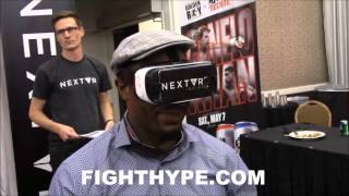 NEXTVR VIRTUAL REALITY TECHNOLOGY - LENNOX LEWIS AMAZED