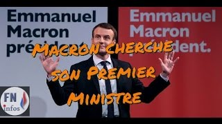 Video Macron cherche son premier ministre un flash info ici MP3, 3GP, MP4, WEBM, AVI, FLV Juni 2017