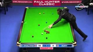 Snooker 2011 Ronnie O'Sullivan 11th 147 Break   YouTube