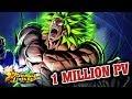 LE MONSTRE INDESTRUCTIBLE ! 1 MILLION DE PV ! DRAGON BALL LEGENDS