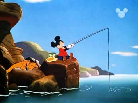 Topolino - Topolino a pesca