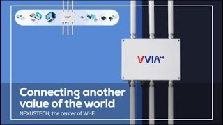 video thumbnail Outdoor Wi-Fi AP+MESH Communication device VVIA1700 (IEEE802.11ac 1.7Gbps) youtube