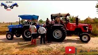 New latest video tractor tochan Arjun 555 vs Sonalika Di 55 Sikandar