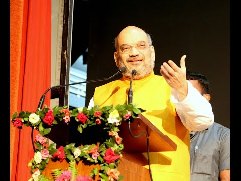 Shri Amit Shah addresses Intellectuals & Karyakarta Meeting at Mahajati Sadan, Kolkata (26 April 2017)