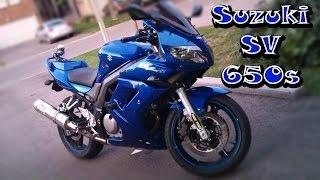 6. New Bike Unveiled -  2005 Suzuki SV650s