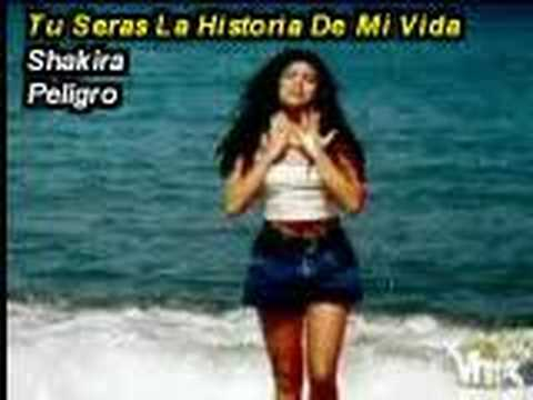 Tekst piosenki Shakira - Tu seras la historia de mi vida po polsku