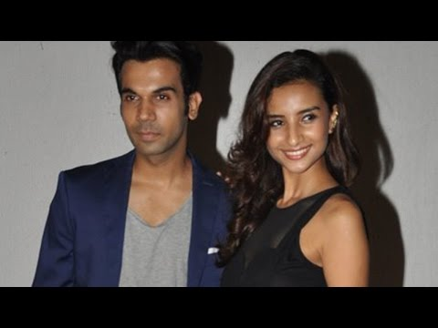 Spotted: Rajkummar Rao With Girlfriend Patralekha