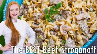The Best Beef Stroganoff by Tatyana's Everyday Food