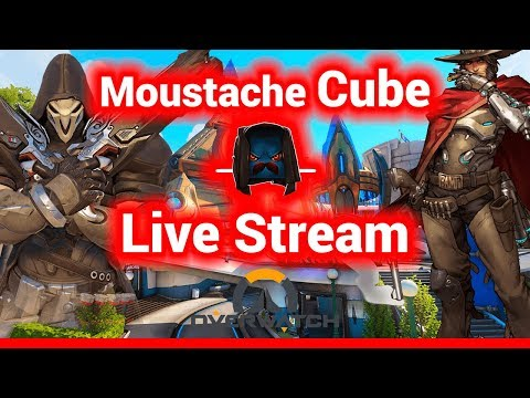 Overwatch Live Stream - Come Join The Moustache Family