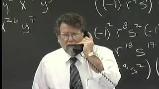 Lecture 18: Beginning Algebra (Math 70)