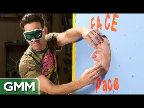 10 • E84___  _    Blind Face Touching Challenge