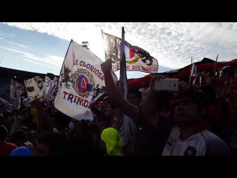 Recibimiento del clásico Cerro porteño vs olimpia - La Plaza y Comando - Cerro Porteño