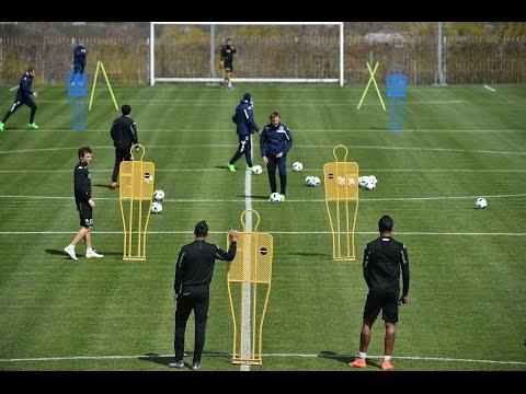 Тренировочный процесс «Краснодара» в преддверии матча с «Динамо»