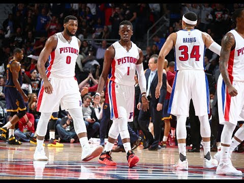 Detroit Pistons' Top 10 Plays of the 2016-2017 NBA Season