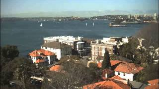Sydney Webcam Time Lapse for Wed, 29th July 2015