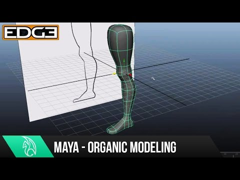 Video Maya Organic Modeling Tutorial - The Leg HD download in MP3, 3GP, MP4, WEBM, AVI, FLV January 2017