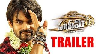 Supreme Movie Trailer HD - Sai Dharam Tej, Rashi Khanna