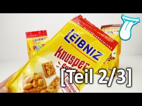 Der BESTE SNACK für unterwegs   LEIBNIZ Knusper Snack [TEIL 2/3]   mit Karamell und Erdnüssen
