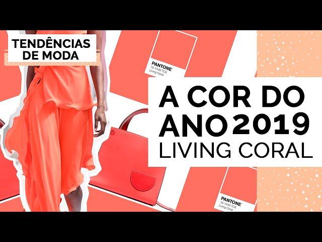 LIVING CORAL A COR DO ANO PANTONE 2019 | TENDÊNCIAS - Closet da Mari