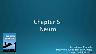 Memorizing Pharmacology Video 5 of 7