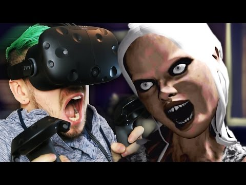 I'M NOT READY FOR THIS | Emily Wants To Play VR (HTC Vive Virtual Reality) (видео)