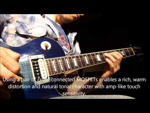 Seymour Duncan's Dirty Deed Distortion Pedal - Official Demo