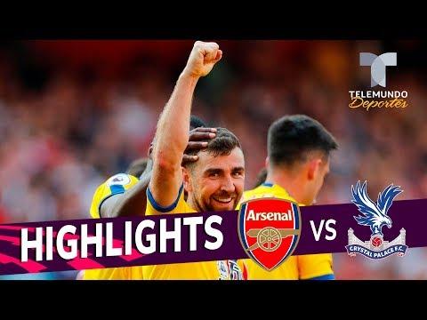 Arsenal vs. Crystal Palace: 2-3 Goals & Highlights | Premier League | Telemundo Deportes