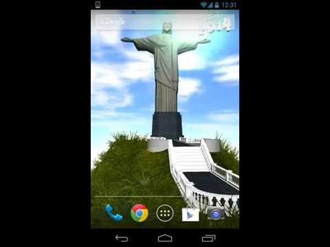 Video of Brazil 2014 livewallpaper 3dhd