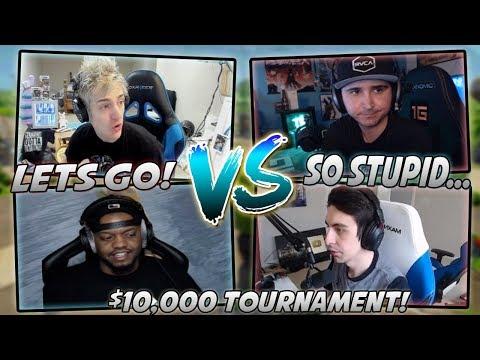 Ninja And King Richard VS Summit And Shroud For $10,000 Highlights! (Ninja And Summit POV!) (видео)